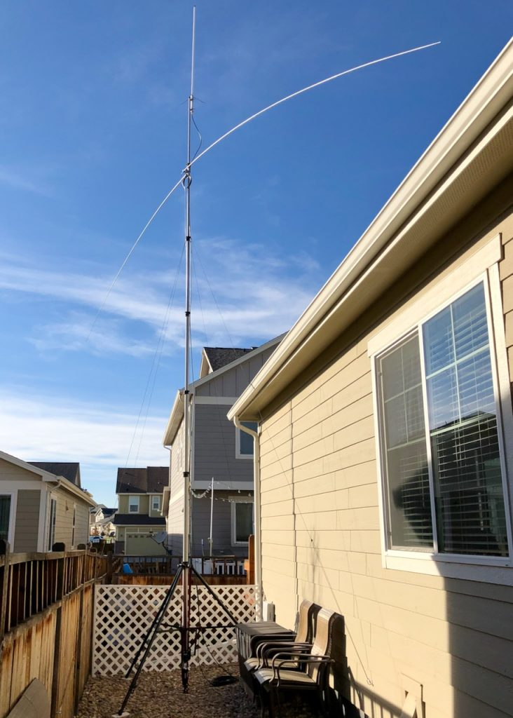 Diamond X50A and MFJ-2299 Antennae
